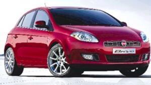 Fiat'ın yeni logosunu taşıyan Bravo teknoloji ve tasarımda öne çıkıyor