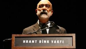 Hrant Dink Ödülü Ahmet Altanın