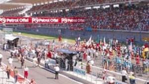 F1 bayramı başlıyor