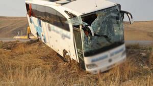 Sivasta otobüs kazası: 36 yaralı