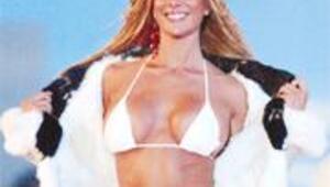 Kürk altında bikini