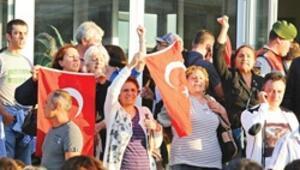 Karardan önce Harbiye, sonra İstiklal Marşı
