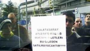G.Saray bileti satılmaz