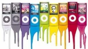 Yeni iPod daha renkli daha eğlenceli oldu