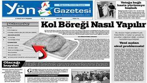 Kol böreği nasıl yapılır Yön Gazetesi'nden yolsuzluklara ilginç protesto