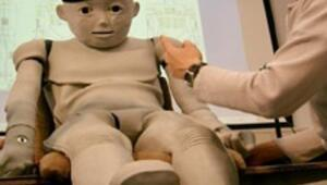 Japonlardan çocuk robot