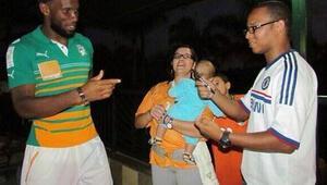 Didier Drogbaya Brezilyada Drogbinha sürprizi