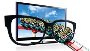 LG, 'Cinema 3D TV'yi getirdi, üç boyutlu televizyon pazarının yarısını hedefledi