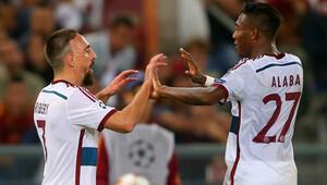 Almanlar coştu Roma-Bayern Münih: 1-7  Maç Özeti ve goller
