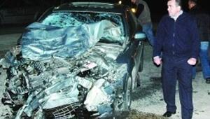 Alkollü sürücünün aşırı hız dehşeti