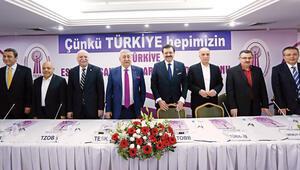 Türkiye hepimizin mesajı