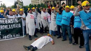 Yatağanda işçiler eylemi sonlandırdı
