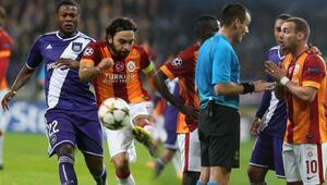 Anderlecht - Galatasaray maçı geniş özeti ve golleri izle