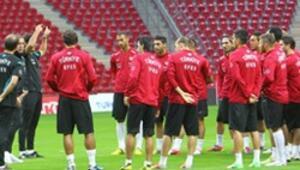Danimarka maçı mesaisi başlıyor