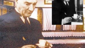 Atatürk 'rötuşla' sigarayı bıraktı