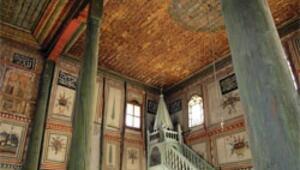 Duvarları sanki resim galerisi