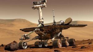 Marsta daha önce hiç görülmedik türde bir kaya aniden beliriverdi