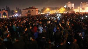 Kobani kutlamasına müdahale