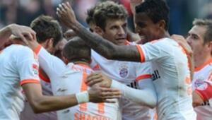 Bayern Munihin liderlik keyfi sürüyor