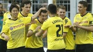 Borussia Dortmunddan tarihi şampiyonluk