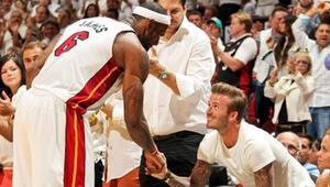 LeBron, Beckhama ortak geliyor