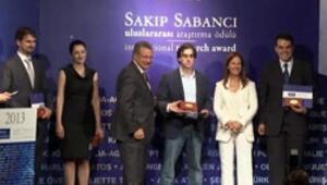Sakıp Sabancı Uluslararası Araştırma Ödülü sahibini buldu