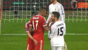 Boateng tuttu Ribery tokatladı