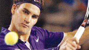 Avustralya'da Federer şip-şak