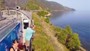 Trans-Sibirya Ekspresi'yle Baykal'ın aynasında