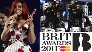 Brit ödülleri sahiplerini buldu