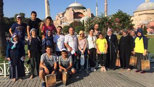 Somalı çocukların İstanbul hayali gerçek oldu