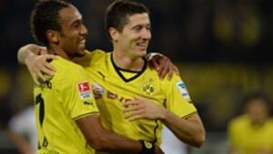 Borussia Dortmund zirveyi bırakmadı