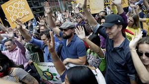 New Yorkta binlerce kişi İklim için yürüdü