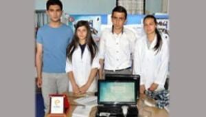 Lise öğrencilerinden online seçim sistemi