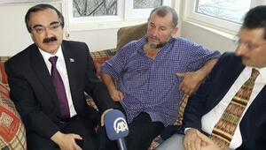 Umrede Erdoğana dua dayağı iddiası sonrası ziyaret