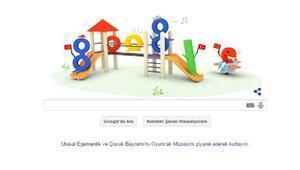 Google 23 Nisan Egemenlik ve Çocuk Bayramı için Doodle hazırladı