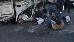 Ankarada trafik kazası: 1 ölü, 3 yaralı