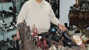 Ayakkabı Dünyası'ndan 4 bin parçalık ayakkabı müzesine