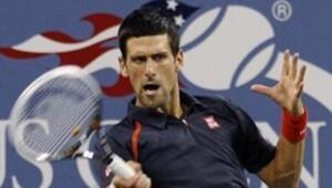Djokovic ter attı