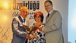 Basın Özgürlüğü ödülü Arslanın