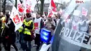 Almanyada Awo çalışanları da greve gidiyor