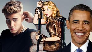 Madonna yerde oturur, Obama et sever