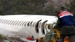 Yolcu uçağı Ispartada düştü