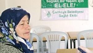 Çankaya köylerinde sağlık taraması