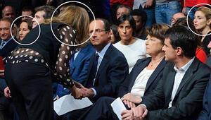 François Hollande, aşk üçgeninin ortasında