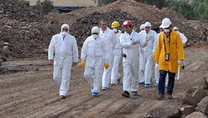 Radyoaktif kirlilik bitiyor
