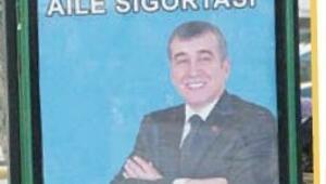 Uşak'ta afiş krizi