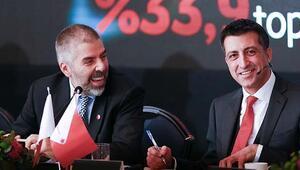 Vodafoneun pazar payı yüzde 33.9a ulaştı