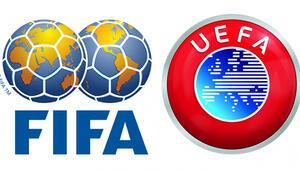 UEFAdan FIFAya destek