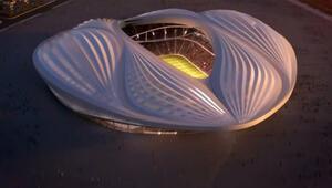 Katarda Bu stadyum vajinaya benziyor tartışması